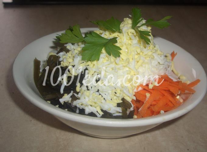 рецепт салата из кальмаров фото пошагово
