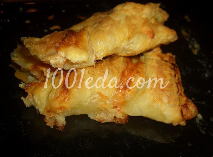 Пирог - закуска Завитушечное солнышко: рецепт с пошаговым фото