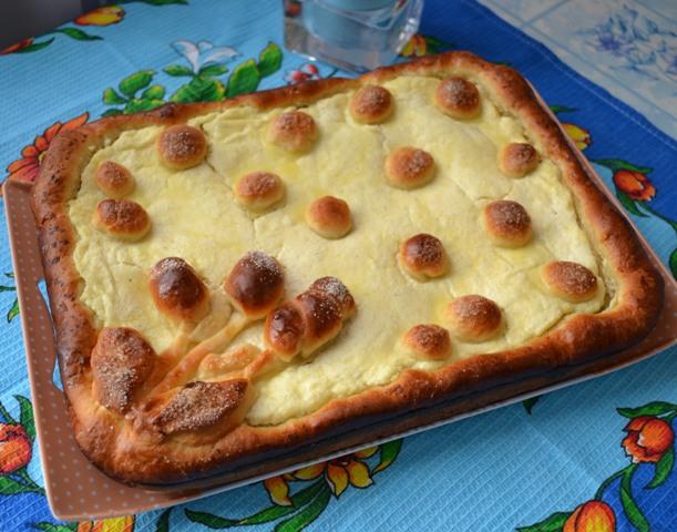 Пироги открытые с начинкой рецепт