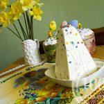 Творожная пасха без яиц со сгущенкой и лимоном: рецепт с пошаговым фото