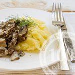 Пшенная каша с мясом и картошкой