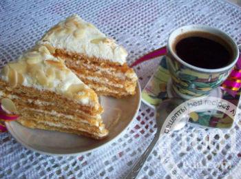 Торт медовик вам понадобится