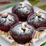 Маффины Минибрауни с орехами и вяленой вишней: рецепт с пошаговым фото