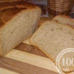 Ржано-пшеничный хлеб на минералке