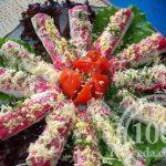 Весенние рулеты из крабовых палочек: рецепт с пошаговым фото