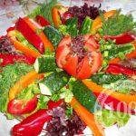 Салат Весенний из свежих овощей
