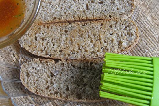 Сухарики с сыром и специями, пошаговый рецепт с фото