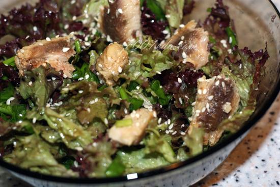 Простой салат с тунцом рецепт с очень вкусный