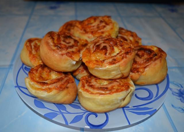 Сырные булочки рецепт с фото пошагово