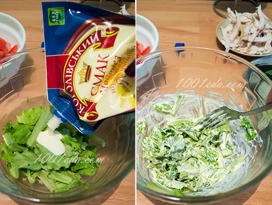 Будда-боул с гречкой, куриной грудкой и соусом из авокадо, пошаговый рецепт с фото