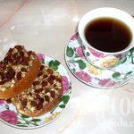 Тост-щербет к чаю