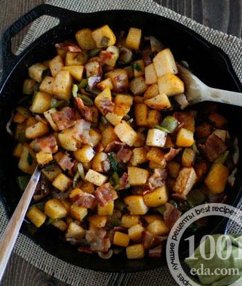 Тушеная картошка. Рецепт с фото