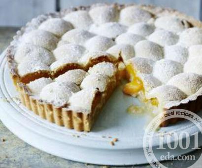 Абрикосовый тарт с марципаном
