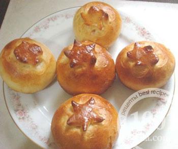 сладкие булочки с вареньем в духовке рецепт