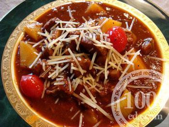 Диетический рецепт грибного крем супа из шампиньонов