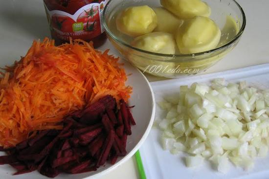 Рецепт приготовления постного борща в мультиварке ...: http://www.1001eda.com/postnyj-borshh-v-multivarke-recept-s-poshagovym-foto