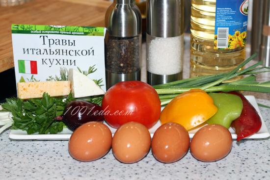 Рулеты из омлета с брынзой и помидорами - рецепт пошаговый с фото