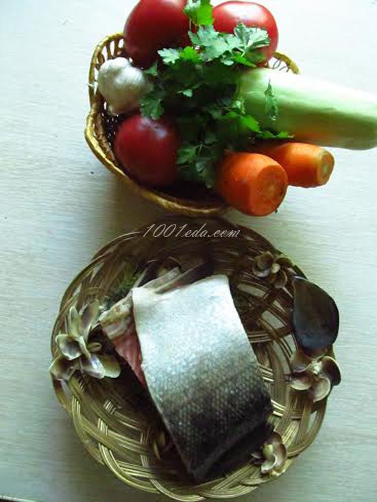 Приготовить стейки трески в мультиварке на пару