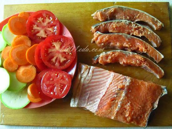 Блюдо со сливочным соусом