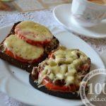 Тартинки с помидорами и сыром: рецепт с пошаговым фото