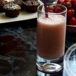 Клубнично-молочный коктейль: рецепт с пошаговым фото