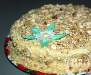 Торт Киевлянка: рецепт с пошаговым фото