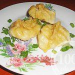 Манты с индейкой и картофелем в мультиварке: рецепт с пошаговым фото