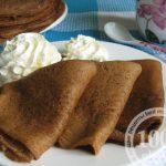 Шоколадные блины на молоке: рецепт с пошаговым фото
