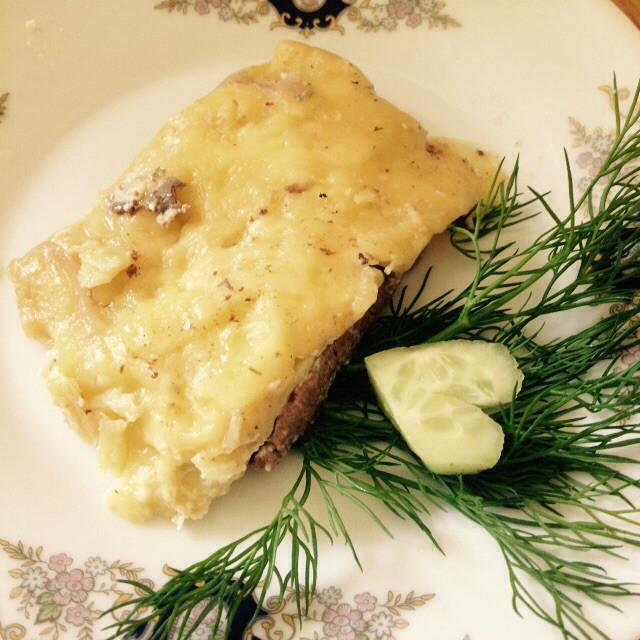 Горячие бутерброды с картофелем – кулинарный рецепт