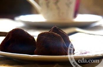 Домашние конфеты трюфели