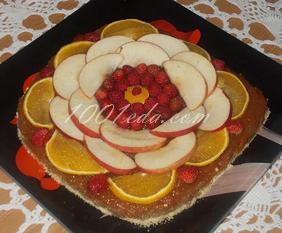 Рецепт торта из одних фруктов без выпечки