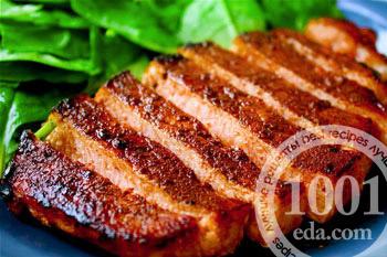 свинина стейками в духовке