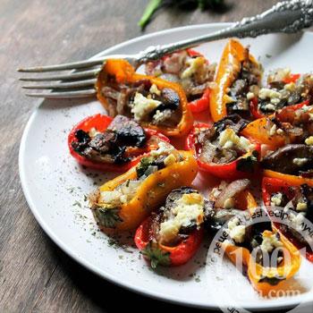 Фаршированные томаты с брынзой – кулинарный рецепт