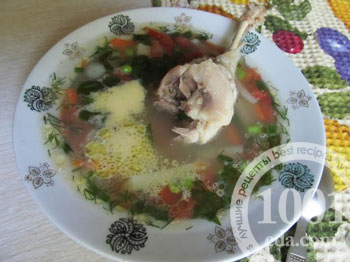 Похлебка из ржи с уткой и белыми грибами, пошаговый рецепт с фото