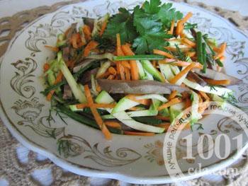 Корейские салаты с кабачков рецепты с 146