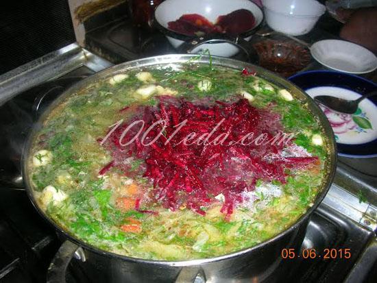 Борщ без поджарки рецепт с пошагово