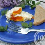 Яичница-глазунья с помидорами и луком: рецепт с пошаговым фото