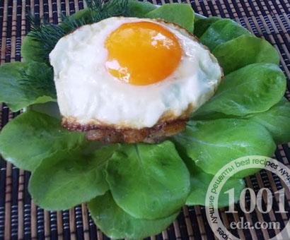Куриный рубленный бифштекс с яйцом: рецепт с пошаговым фото