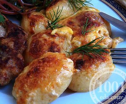 Молодой картофель, запеченный в молоке: рецепт с пошаговым фото