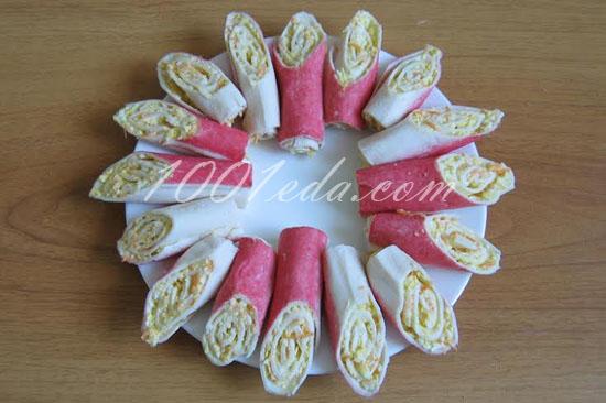 хризантема салат рецепт с крабовыми