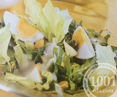 Салат со шпинатом: рецепт с пошаговым фото