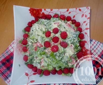 Салат со шпинатом Для здоровья: рецепт с пошаговым фото