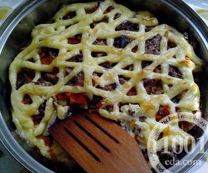 Картофель с сардинами
