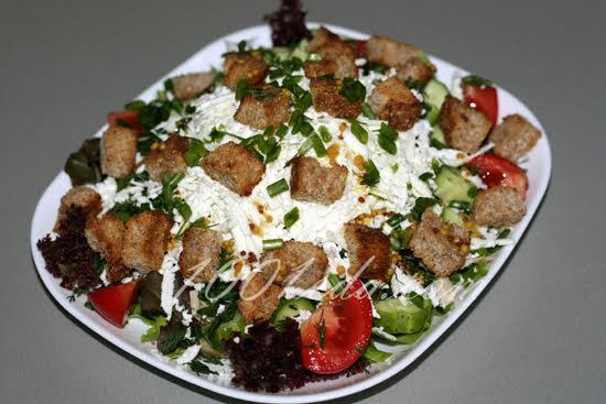 овощные салаты для похудения рецепты с фото