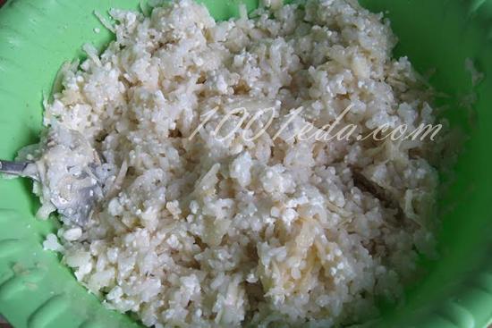 Творожно-рисовая запеканка с яблоками и ягодами годжи, пошаговый рецепт с фото