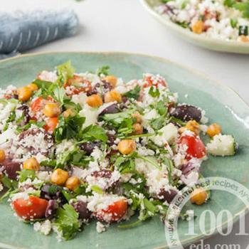 Средиземноморский салат с кус-кусом