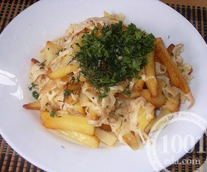 Жареная картошка с сыром на топленом масле: рецепт с пошаговым фото
