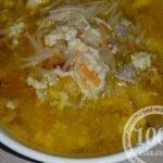 """Суп легкий """"Uovo con la pasta"""": рецепт с пошаговым фото"""