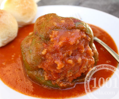 Перец фаршированный гречкой рецепт с фото, как приготовить на Webspoon.ru