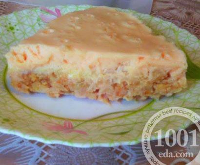 Тортик Нежный с зефирным кремом